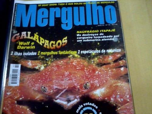revista mergulho nº90 galápagos