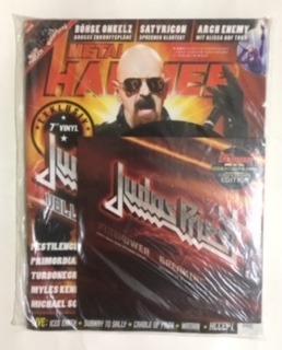 revista metal hammer märz 2018 + judas priest 7 ep