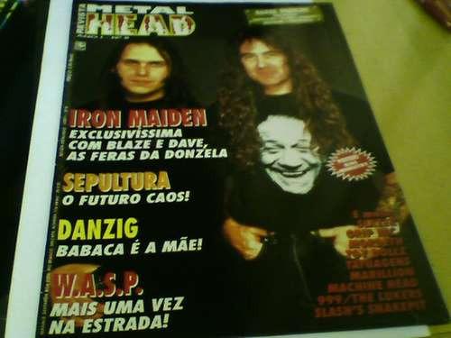 revista metal head n°8 poster kisse ministry