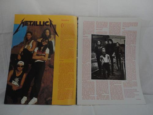 revista - metallica -  letras traduzidas - top rock especial