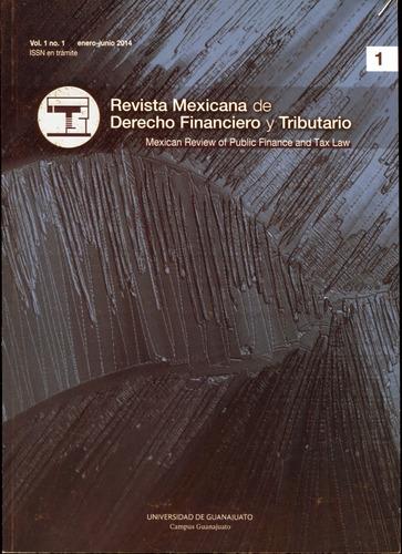 revista mexicana de derecho financiero y tributario tomo 1/2