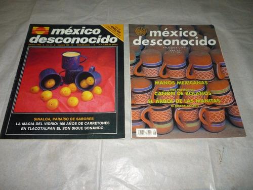 revista mexico desconocido