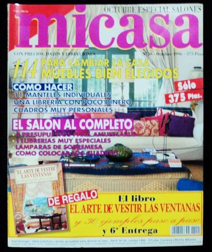 revista micasa - nº 24 - outubro 1996 - espanhola