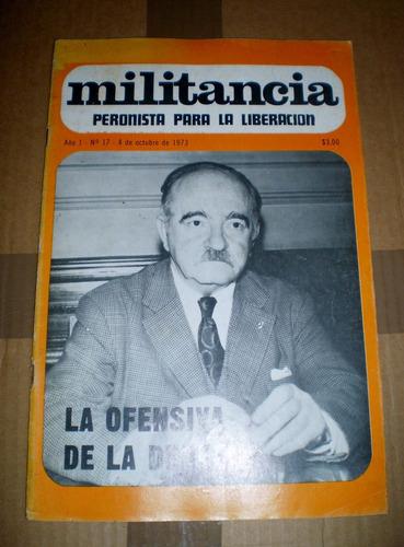 revista militancia numero 17 1973