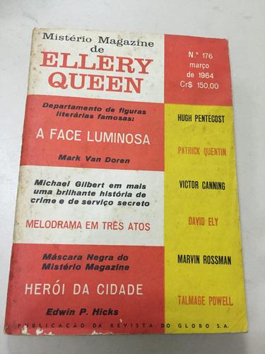 revista mistério magazine de ellery queen nº 176 1964