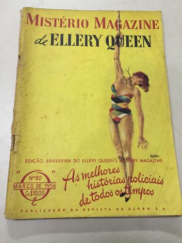 revista mistério magazine de ellery queen nº 80 1956