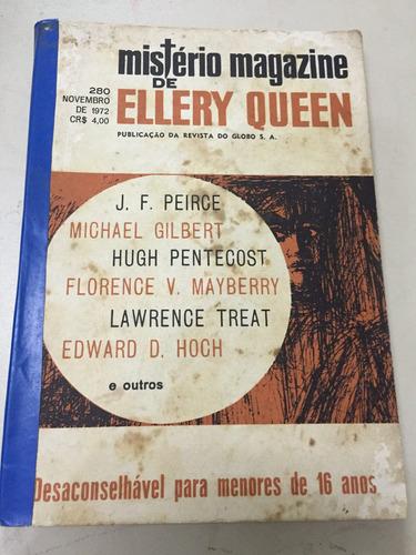 revista mistério magazine ellery queen nº 280 novembro 1972