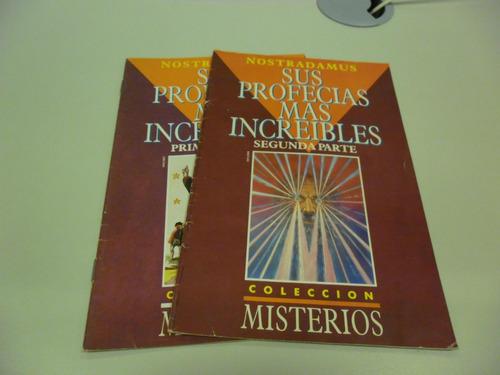 revista misterios - profecias de nostradamus