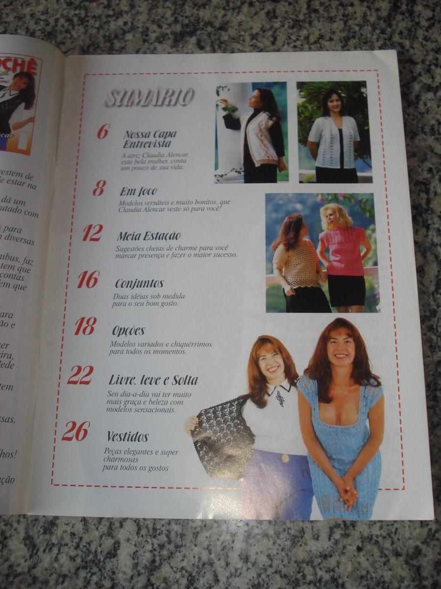 4aa78beeba revista moda crochê especial jovem senhora claudia alencar. Carregando zoom.