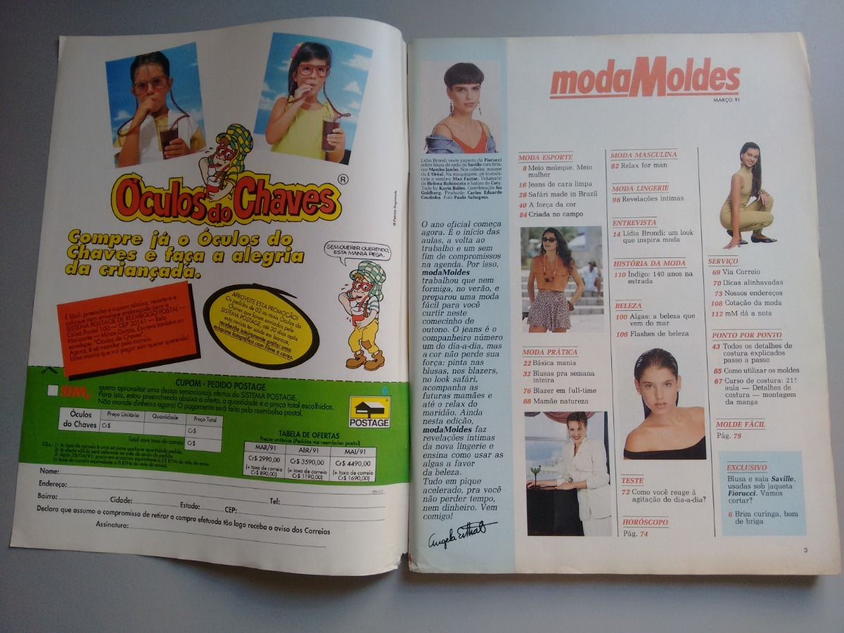 4e75902a08 Carregando zoom... moda moldes revista. Carregando zoom... revista moda  moldes 57 lidia brondi blusas lingerie a256