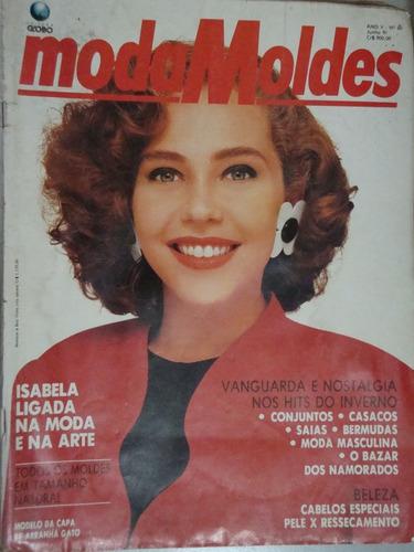 revista moda moldes ano v nº 60 - junho 91