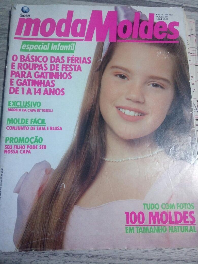 e0d40db518 Revista Moda Moldes 40a - Natália Lage (com Molde) - R  25