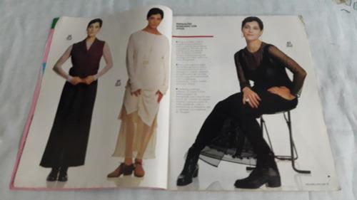 revista moda moldes nº 98 ago/94 c/moldes/cristiane torloni