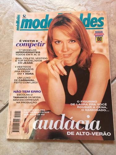 revista moda moldes viviane pasmanter n°141