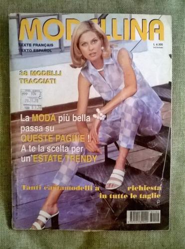revista modellina moda con moldes