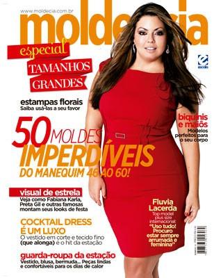42c0eb1e7 Revista Molde Cia Tamanhos Grandes Fluvia Lacerda Plus Size - R$ 23 ...