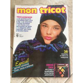Revista Mon Tricot 110 Gorros Cachecóis Luvas Polainas E325