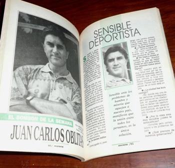 revista morena gente 1993 jéssica tapia juan gabriel modas