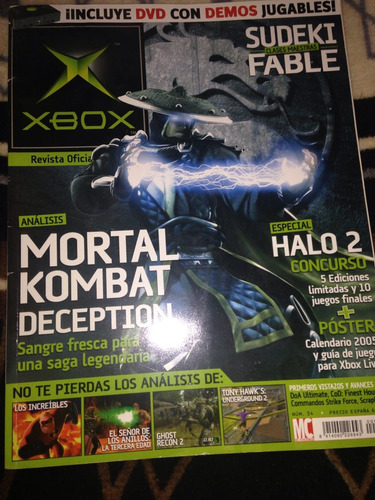 revista mortal kombat