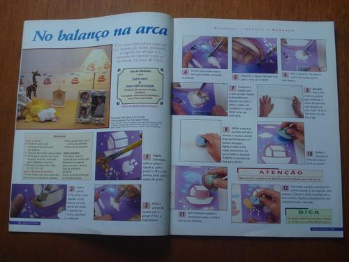 revista mãos de ouro artesanato n°19 isopor lata papel