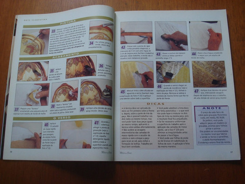 revista mãos de ouro artesanato  n°6 é primavera craquelê