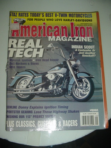 revista moto american iron