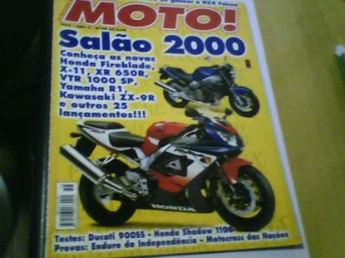 revista moto n°58 1999 salão 2000 testes ducati 900ss
