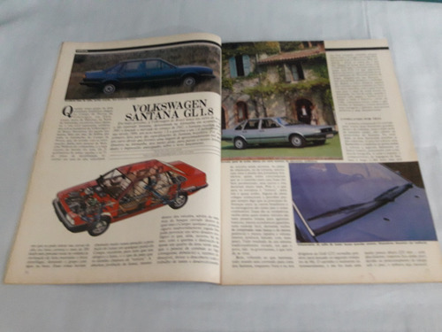 revista motor 3 nº 41 - novembro 1983 santana/escort ghia
