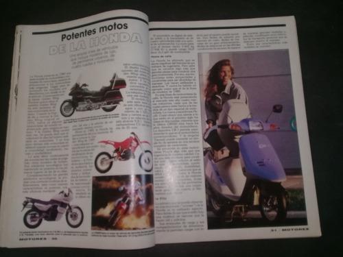 revista motores reportaje motos de ayer y de hoy