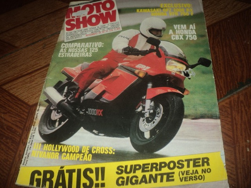 revista motoshow nov.85n33  tem algumas manchas
