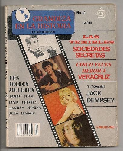 revista muerte marilyn monroe james dean elvis lennon 1990