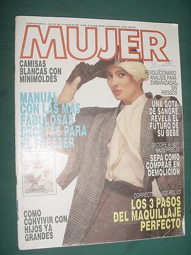 revista mujer 304 recetas freezer demolicion maquillaje