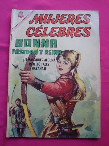 revista mujeres celebres nº 60 bonna pastora y reina novaro