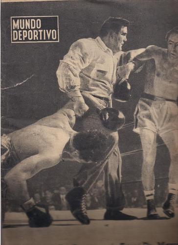 revista mundo deportivo nº 454 (1958) sin portada.