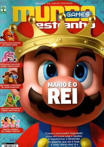revista mundo estranho games mario é o rei edição 03  frete