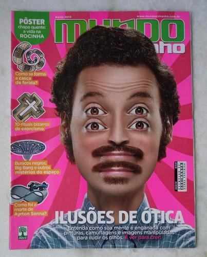 revista mundo estranho nº 138