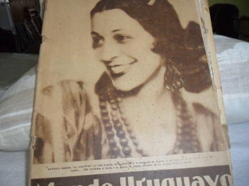 revista mundo uruguayo de agosto de 1933