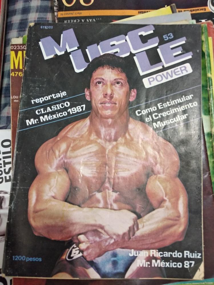 Revista Muscle Power $220 C/u - $ 220.00 en Mercado Libre