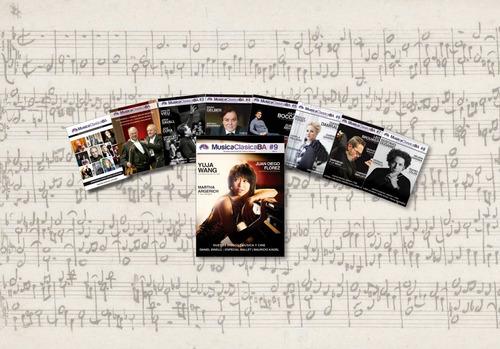 revista musicaclasicaba - colección completa: 9 revistas.