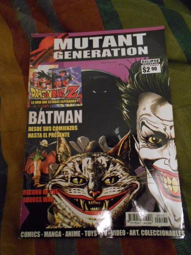 revista mutant generation nro 2 -  nota de tapa batman