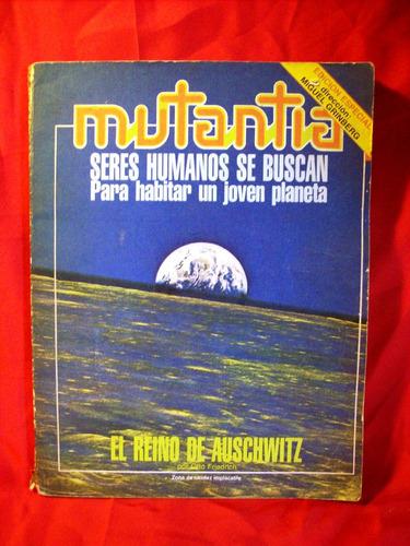 revista mutantia nº8/9 auschwitz caetano veloso john huston