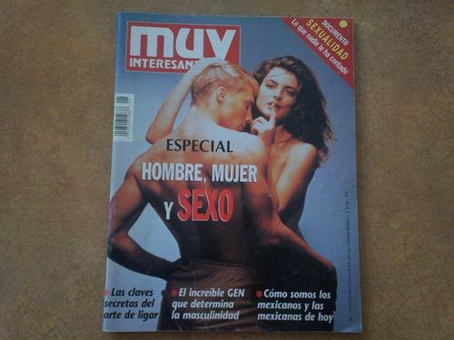revista muy interesante hombre, mujer y sexo