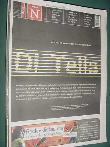 revista ñ 112 di tella vanguardia kojeve peron vargas sanata