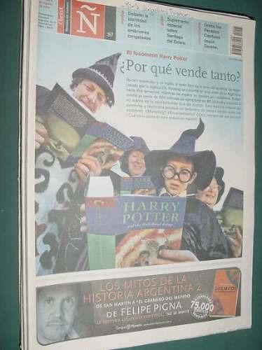 revista ñ 97 harry potter magia acher humor manuel castilla