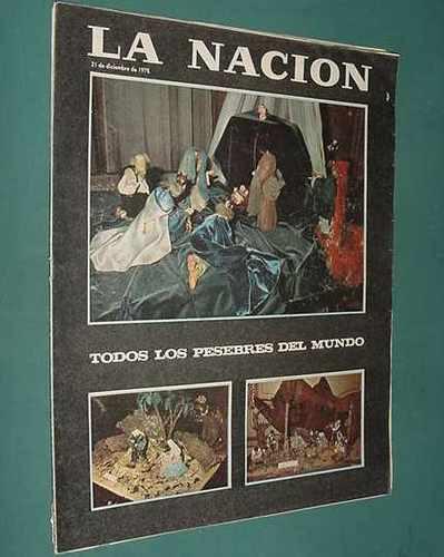 revista nacion 21/12/75 jovita diaz salvador dali navidad