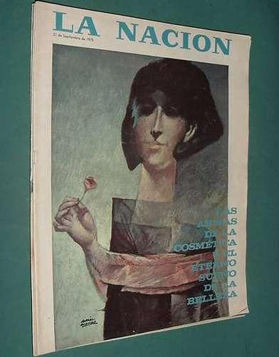 revista nacion 21/9/75 disc jockeys cine eduardo d'angelo