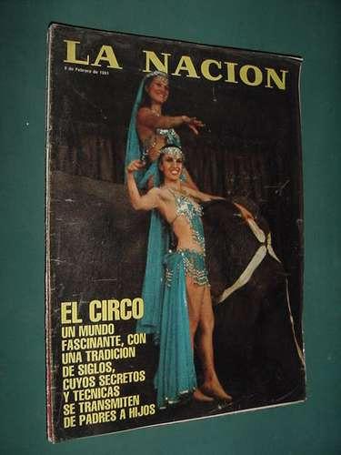 revista nacion 605 circo circus stekelman schifrin saura