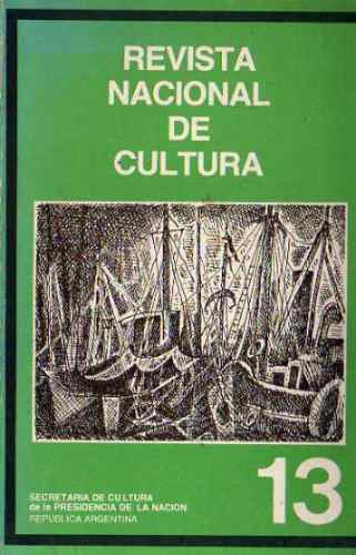 revista nacional de cultura 13 - 1983