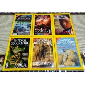 Revista National Geographic - Lote Com 6 Edições (2000)