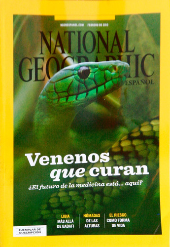 revista national geographic. 2013 febrero.